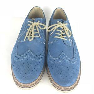 285cfbcbb66 Nordstrom Shoes - Nordstrom 1901 shoes Blue Suede Oxford Wingtip